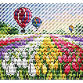 Evening in Holland Cross Stitch Kit by Mp Studia