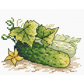 Fresh from the Garden Cross Stitch kit by MP Studia