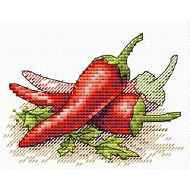 Red Pepper Cross Stitch Kit by MP studia