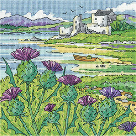 Thistle Shore Cross Stitch Kit by Heritage