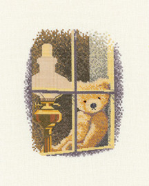William at the window Cross Stitch Kit by Heritage