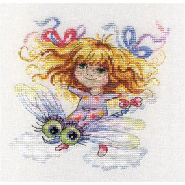 To Imagainary Land Cross Stitch Kit by Mp Studia