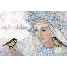 Winter Queen Cross Stitch Kit by Mp Studia