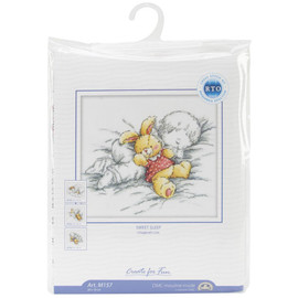 Baby Rabbit Cross Stitch Kit by RTO