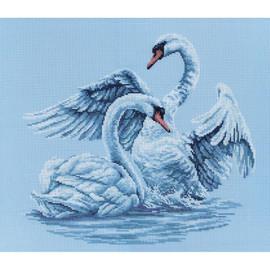 Swan Fidelity Cross Stitch Kit by RTO