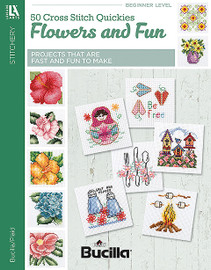 50 Cross Stitch Quickies-Flowers And Fun