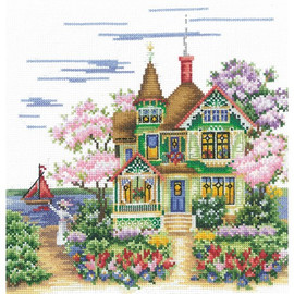 MAY MORNING - Cross stitch kit by Andriana