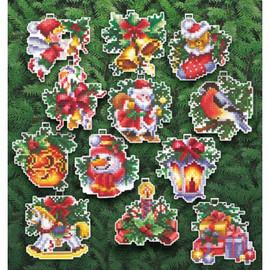 CHRISTMAS TOYS-Cross stitch kit by Andriana