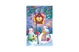CARDS LANTERN- CROSS STITCH KIT BY ANDRIANA