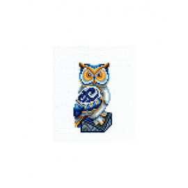 FIGURINES OWL-cross stitch kit by Andriana