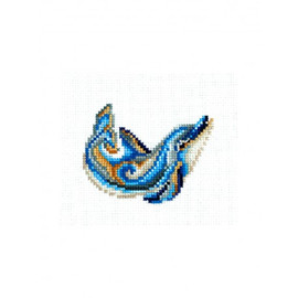 FIGURINES DOLPHIN-cross stitch kit by Andriana