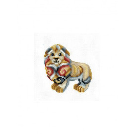 FIGURINES LION -cross stitch kit by Andriana