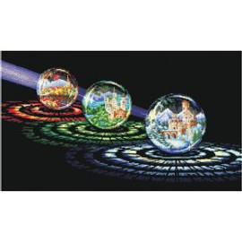 SPHERES OF WISHES-cross stitch kit by Andriana