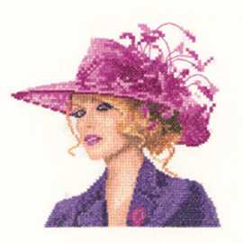 Sarah in Miniature Cross Stitch Kit by Heritage