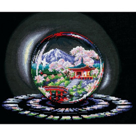 SPHERES OF WISHES. SPRING CAPRICE-cross stitch kit by Andriana