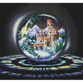 SPHERES OF WISHES. WINTER WONDER-CROSS STITCH KIT BY ANDRIANA