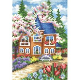 SEASONS. SPRING-cross stitch kit by Andriana