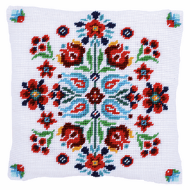 Tapestry Kit: Cushion: Folklore I By Vervaco