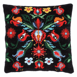 Tapestry Kit: Cushion: Folklore III By Vervaco