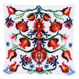 Tapestry Kit: Cushion: Folklore IV By Vervaco