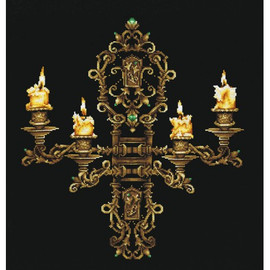 EVENING BY CANDLELIGHT-cross stitch kit by Andriana