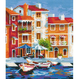 SOUTH PIER-cross stitch kit by Andriana