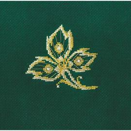 JEWELLERY LEAF-cross stitch kit by Andriana