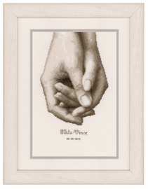 Counted Cross Stitch Kit: Hand in Hand By Vervaco