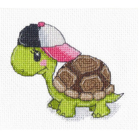 Little Turtle cross stitch kit By Oven