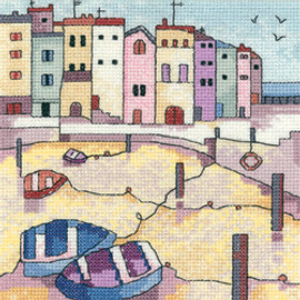 Quiet Moorings Cross Stitch Kit by Heritage