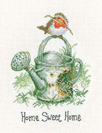 Home Sweet Home Cross Stitch Kit by Heritage