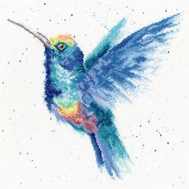 Wrendale Rainbow Cross Stitch Kit by Bothy Threads