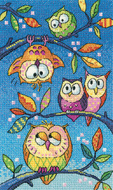 Hanging Around Cross Stitch By Heritage
