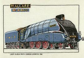 Mallard Cross Stitch Kit by Heritage
