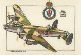 Avro Lancaster Cross stitch Kit by Heritage