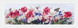 Field Beauties Cross Stitch Kit by Merejka