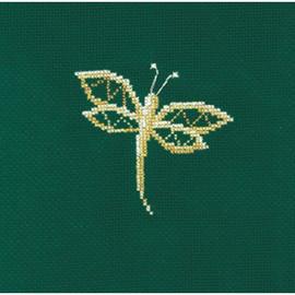 JEWELRY DRAGONFLY -cross stitch kit by Andriana