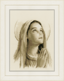 Counted Cross Stitch Kit: Hail Mary By Vervaco