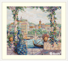 Palace Pier Cross Stitch Kit by Merejka