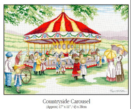 All our yesterdays Country Carousel Cross Stitch Kit