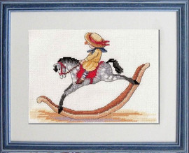 Rocking Horse Cross Stitch Kit by All our Yesterdays