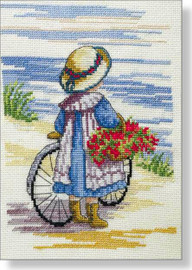 Flowers From Home Cross Stitch Kit by All our Yesterdays
