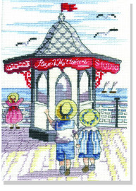 Pier Shop Cross Stitch Kit by All our yesterdays