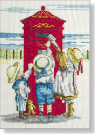 Tippy Toes Cross Stitch Kit by All our Yesterdays