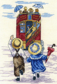 Wait for us Cross Stitch Kit by All our Yesterdays