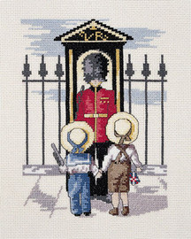 Palace Guard Cross Stitch Kit By All out Yesterdays