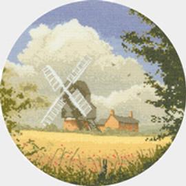Corn Mill cross stitch kit by John Clayton