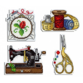 Needlework Magnets Kits by Oven