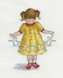 Dolly Chain Cross Stitch Kit by All our Yesterdays