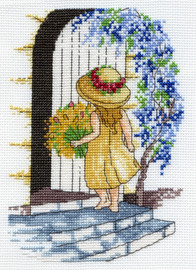 Wisteria Cross Stitch Kit by All our Yesterdays